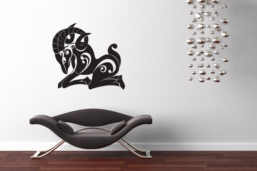 Aries Horoscope Art - Vinyl Wall Art Decal
