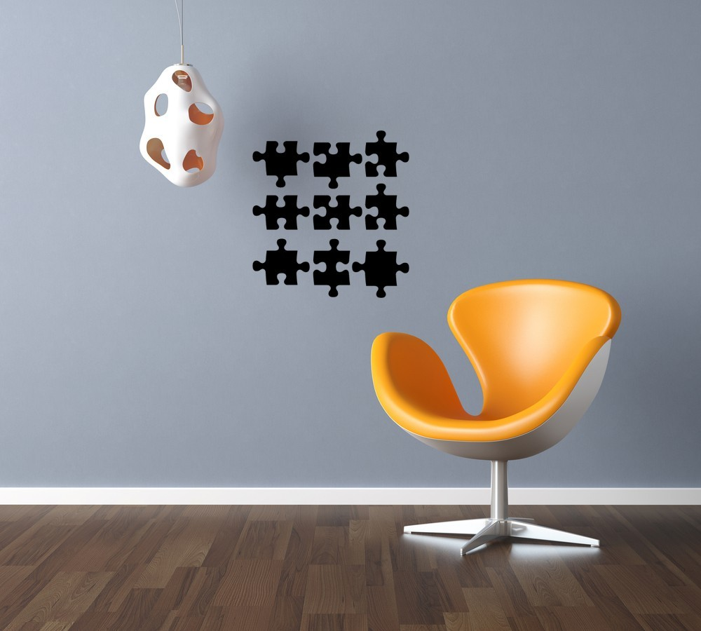 Puzzle Pieces - Vinyl Wall Art Decal