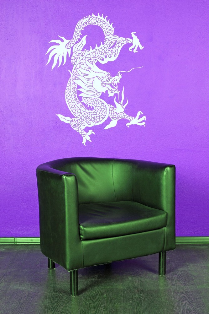 Primary image for Festival Dragon - Vinyl Wall Art Decal