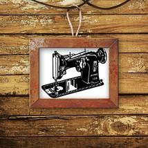 Retro Sewing Machine - Vinyl Wall Art Decal - $34.00
