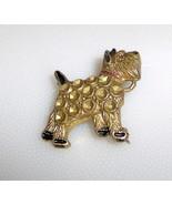 Old Clasp Vintage Cute Scottie Scottish Terrier Dog Pin  - $5.49