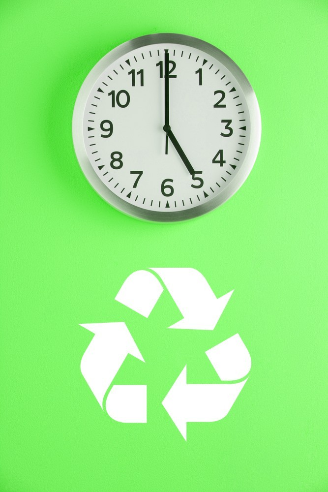 Recycle Symbol - Vinyl Wall Art Decal