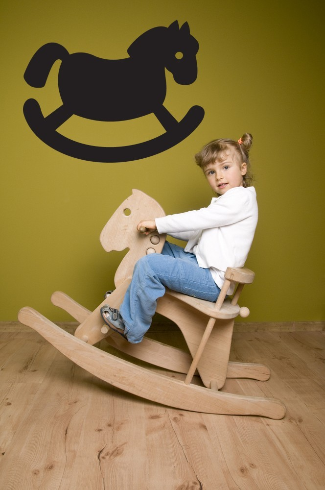 Rocking Horse - Vinyl Wall Art Decal