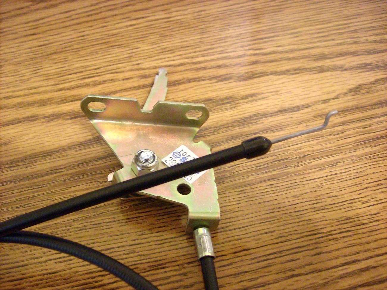 Exmark Lazer Z throttle cable 633696 / 1-633696