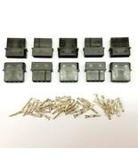 10er Packung - Stecker 4-polig Molex PC PSU Stromversorgung Verbinder - ... - $9.42