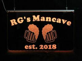 Personalized Beer Mug Bar Sign, Man Cave Sign, Game Room Sign image 4