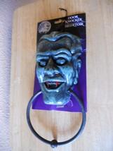NEW Door Knocker Plastic Green Vampire Plastic NEW - $4.17