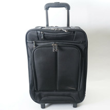 Samsonite Wheeled Black Brief Case/Laptop/Overnight Rolling Carry-on Bag.   - $58.04