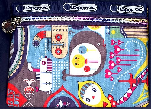 Super Cool Sealife Zipper Pouch Multipurpose  Designed by Ka
