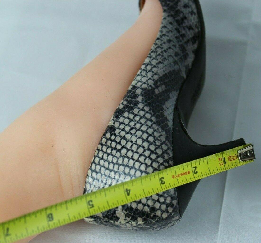Franco Sarto L Dash Mujer Mediano Tacones Punta Abierta Animal Estampado Zapatos image 8