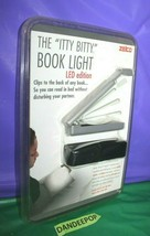 Zelco The Itty Bitty Book Light LED Version 719133 In Package Night Reading  - $24.74