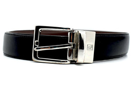 Lauren by Ralph Lauren Classic Reversible Mens Leather Belt Black Brown ... - $40.65