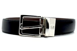 Lauren by Ralph Lauren Classic Reversible Mens Leather Belt Black Brown ... - $42.05