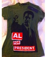 """MARC JACOBS Al Gore limited """"Al for President"""" T-shirt NWT S - $49.99"""