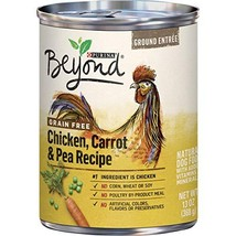 Purina Beyond Grain Free, Natural Pate Wet Dog Food, Grain Free Chicken,... - $29.69