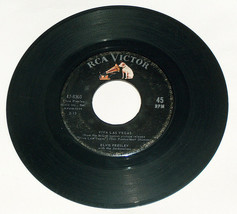 45 rpm Elvis presley viva las vegas, what 'd I say rca victor record 47-... - $11.94
