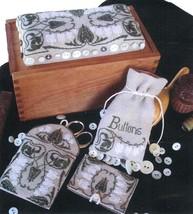 Grandmother's Button Box cross stitch chart Needlemade Designs  - $16.20