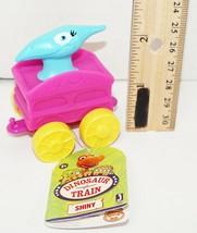 Shiny Jim Henson Dinosaur Train - Mini All Aboard Toy Figure In Vehicle 2016 - $4.88