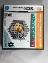 Picross 3D (Nintendo DS, 2010) Brand New - $18.69