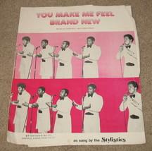 You Make Me Feel Brand New Sheet Music Stylistics - $8.99