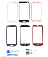 Front screen glass replacement all colors for Samsung Galaxy s3 SGH-I747... - $19.99