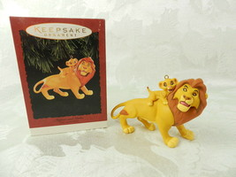 Hallmark Christmas Ornament The Lion King Mufasa & Simba 1994 - $14.84