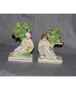 English Pottery Staffordshire Pearlware Figures God Goddess Early 19th C... - $375.00