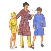 1970s Vtg Simplicity Sewing Pattern 9635 Easy Boys Robe Look Alike Fashi... - $6.95