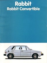 1981 Volkswagen RABBIT sales brochure catalog 81 US VW - $9.00