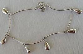 Silver drops bracelet - $24.00