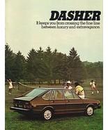 1976 Volkswagen DASHER sales brochure catalog 76 US VW - $8.00
