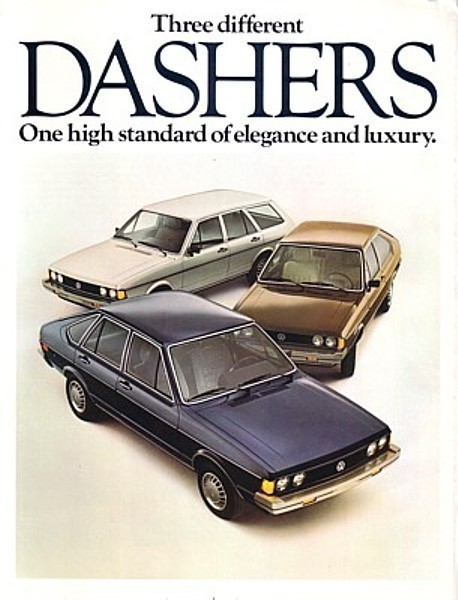 1978 Volkswagen DASHER sales brochure catalog 78 US VW