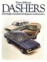 1978 Volkswagen DASHER sales brochure catalog 78 US VW - $8.00