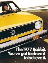 1977 Volkswagen RABBIT sales brochure catalog 77 US VW - $8.00