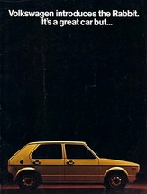 1975 Volkswagen RABBIT sales brochure catalog 75 US VW - $9.00