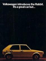 1975 Volkswagen RABBIT sales brochure catalog 75 US VW - $8.00