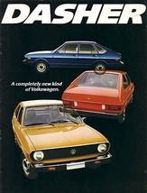 1974 Volkswagen DASHER sales brochure catalog 74 US VW - $9.00