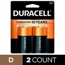 Duracell - CopperTop D Alkaline Batteries with recloseable package - long lastin - $13.10