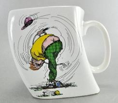 The Results of Over Swing Comical CeramicTwisted Golf Mug  - $6.25