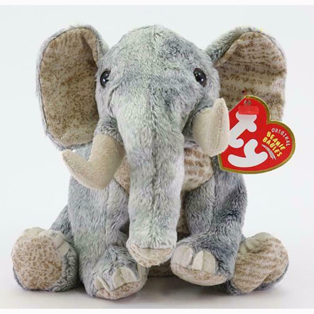 Bahati The African Elephant Ty Beanie Baby Mint Condition with Tags