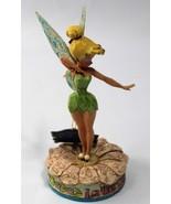 Tinker Bell Figurine Enesco Disney Traditions Jim Shore 4005221 Flaws - $37.36