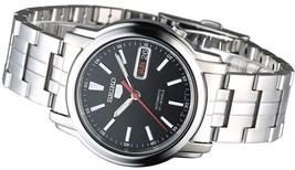 Seiko 5 SNKL83K1 automatic men's watch black dial 37mm stainless steel bracelet - $119.00