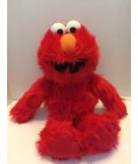 "Sesame Street Elmo Red  Plush 2007 16""Tall Sesame Street Live - $9.49"