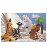 Giraffe~Zebra~Unicorn & Camel Crochet Patterns~VHTF - $11.99