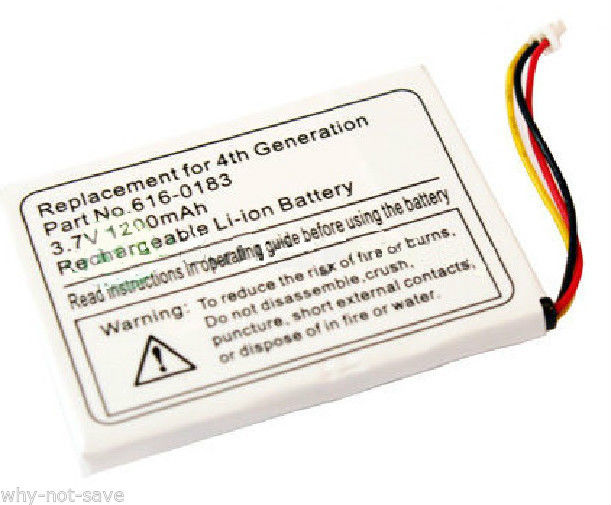 New Replacement battery for ipod classic Photo 3 3rd gen A1040 10 15 30 40 GB