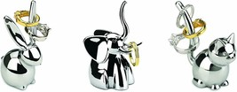 Set of 3 Ring Holders Cat, Elephant, and Rabbit Shaped - $39.00