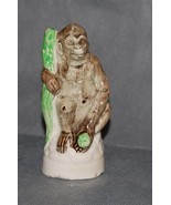 Antique English Pottery Staffordshire Figurine Of A Gorilla - $450.00