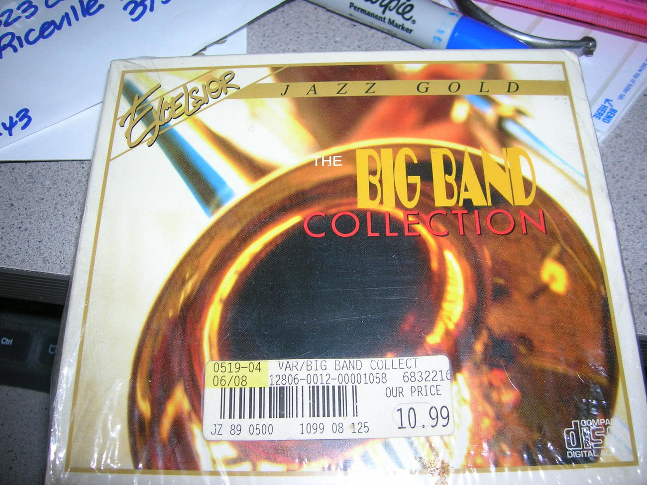 EXCELSIOR JAZZ GOLD THE BIG BAND COLLECTION 2 CD ARMSTRONG DORSEY SHAW BASIE MOR