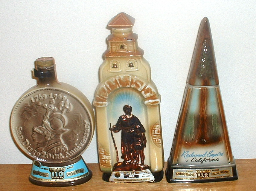 California Mission Decanter by Jim Beam