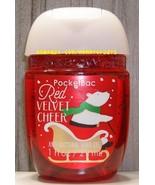 Red Velvet Cheer Pocketbac Antibacterial Sanitizing Hand Gel Bath and Bo... - $5.00